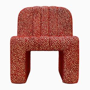 Gepunkteter Vintage Stuhl, 1960er