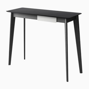 CIMA Console Table with Black Lacquered Top by Henri Tujague