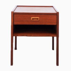 Vintage Bedside or Side Table in Teak