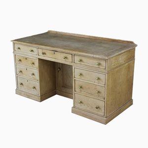 Antiker Schreibtisch aus Pinienholz