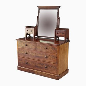 Antique Victorian Mahogany Dressing Table