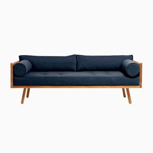 Series One Clyde Sofa in Indigoblau von Another Country