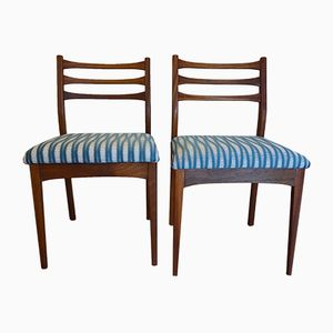 Vintage Teak Chairs, Set of 2