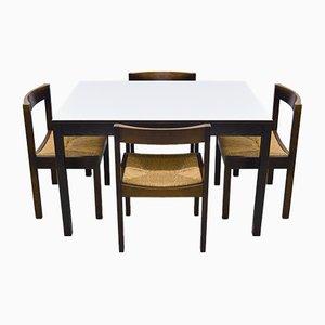 Mid-Century Wenge Dining Set by Martin Visser, 1970s