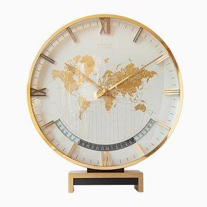 Orologio da tavolo Time World grande vintage di Kienzle, anni '70