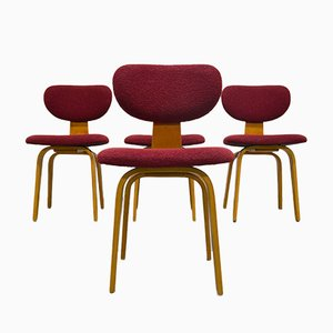 SB02 Combex Chairs by Cees Braakman for Pastoe, 1950s, Set of 4