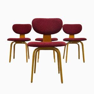 SB02 Combex Stühle von Cees Braakman für Pastoe, 1950er, 4er Set