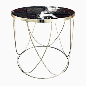X50 Nero Coffee Table from GO.OUD - furniture of brass