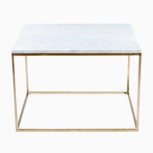 CUBE Bianco Couchtisch von GO.OUD - furniture of brass