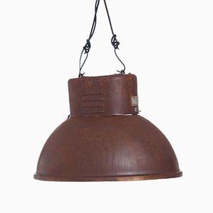 Lampada industriale con effetto ruggine di Predom Mesko, 1966