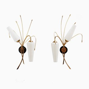 French Sconces, 1960s, Set of 2