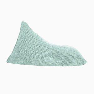 Pouf in maglia di lana da SanFates