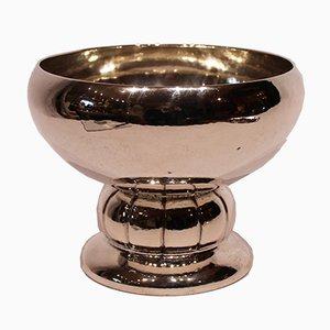 Copa vintage de plata sellada, años 20