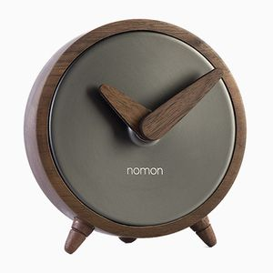 Atomo Graphite Clock by Andres Martinez for NOMON