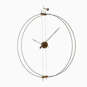 Horloge Barcelona par Jose Maria Reina pour NOMON