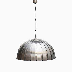 Lámpara colgante italiana grande de Elio Martinelli para Martinelli Luce, 1963