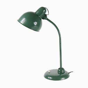 Lampada da tavolo vintage verde
