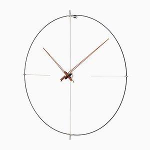Reloj Bilbao de nogal de Jose Maria Reina para NOMON