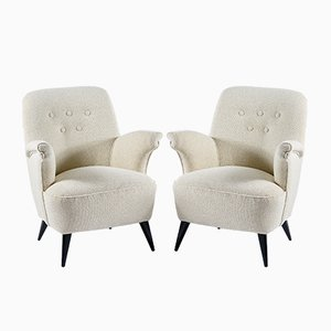 Italian Armchairs from Castelli, 1950s, Set of 2