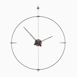 Mini Bilbao Black Clock by Jose Maria Reina for NOMON