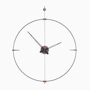 Mini Horloge Bilbao Noire par Jose Maria Reina pour NOMON