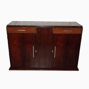 Art Deco Mahogany & Rosewood Buffet from De Coene, 1930s