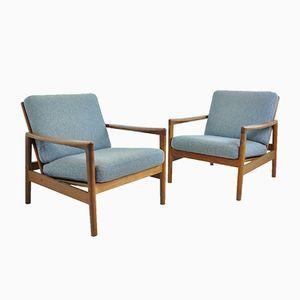 Vintage Easy Chairs by Hans Olsen for Juul Kristensen, 1950s, Set of 2