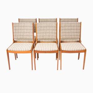 Mid-Century Stühle aus Teak von IMHA, 6er Set