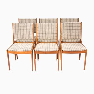 Mid-Century Teak Chairs from IMHA, Set of 6