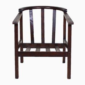 Mid-Century Armlehnstuhl aus Eiche