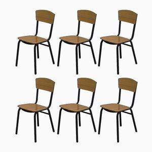 Chaises d'Appoint Vintage, 1950s, Set de 6