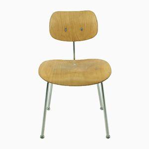SE 68 Beistellstuhl aus Buche von Egon Eiermann für Wilde & Spieth, 1960er
