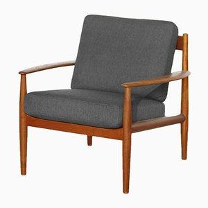 Chaise 118 Mid-Century en Teck par Grete Jalk pour France & Søn, 1960s