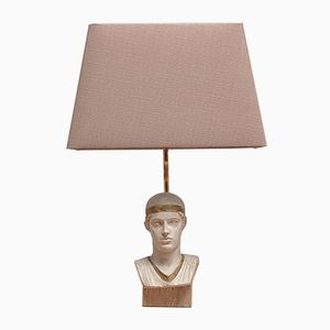 French Bust Table Lamp from Le Dauphin, 1970s