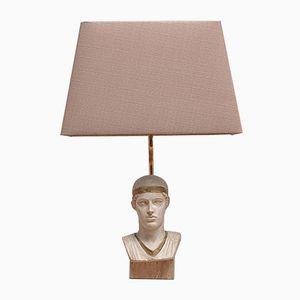 Lampada da tavolo con busto di Le Dauphin, Francia, anni '70