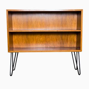 Vintage German Walnut Shelf by Georg Satink for WK Möbel, 1960s