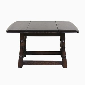 Vintage Oak Drop-Leaf Table