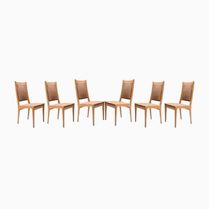 Dining Chairs by Karl-Erik Ekselius for JOC Vetlanda, 1969, Set of 6