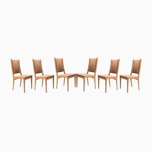 Esszimmerstühle von Karl-Erik Ekselius für JOC Vetlanda, 1969, 6er Set