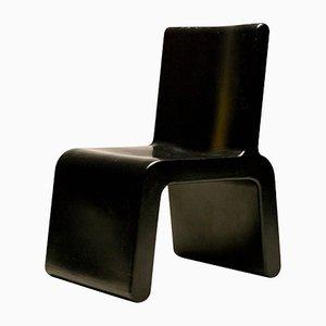 Chaise Noire par Marc Newson pour WL&T, 1996