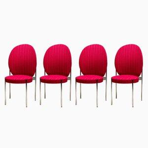 430 High Back Esszimmerstühle von Verner Panton für Thonet, 1960er, 4er Set