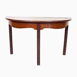 Antique Demi Lune Console Table