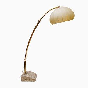 Bogenlampe von Hustadt Leuchten, 1970er