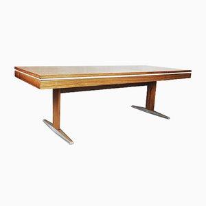 Mesa ajustable alemana de palisandro de E.M.Ü, años 60