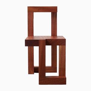 Quadratischer Stuhl von Richard Lowry