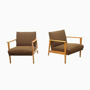 Vintage Easy Chairs from Knoll Antimott, 1960s, Set of 2
