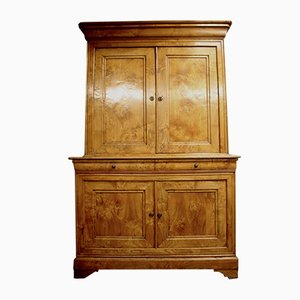 19th-Century French Chestnut Cupboard