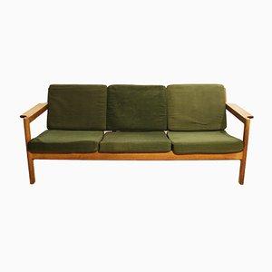 J103 Sofa mit Gestell aus Eiche von Børge Mogensen für FDB, 1960er