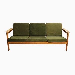 Oak J103 Sofa by Børge Mogensen for FDB, 1960s