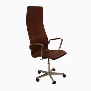 Sedia da ufficio 3292C di Arne Jacobsen per Fritz Hansen, anni '60